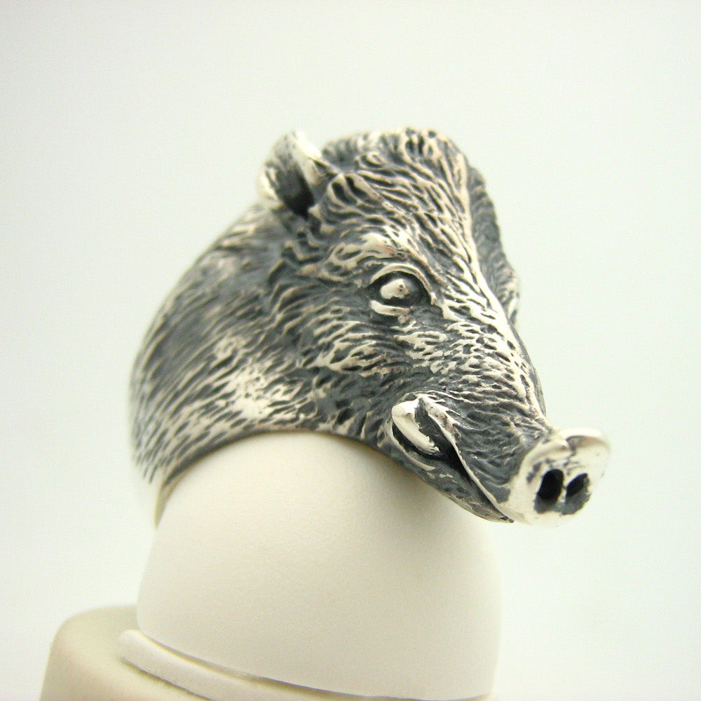 The Woodsman Wild Boar Ring