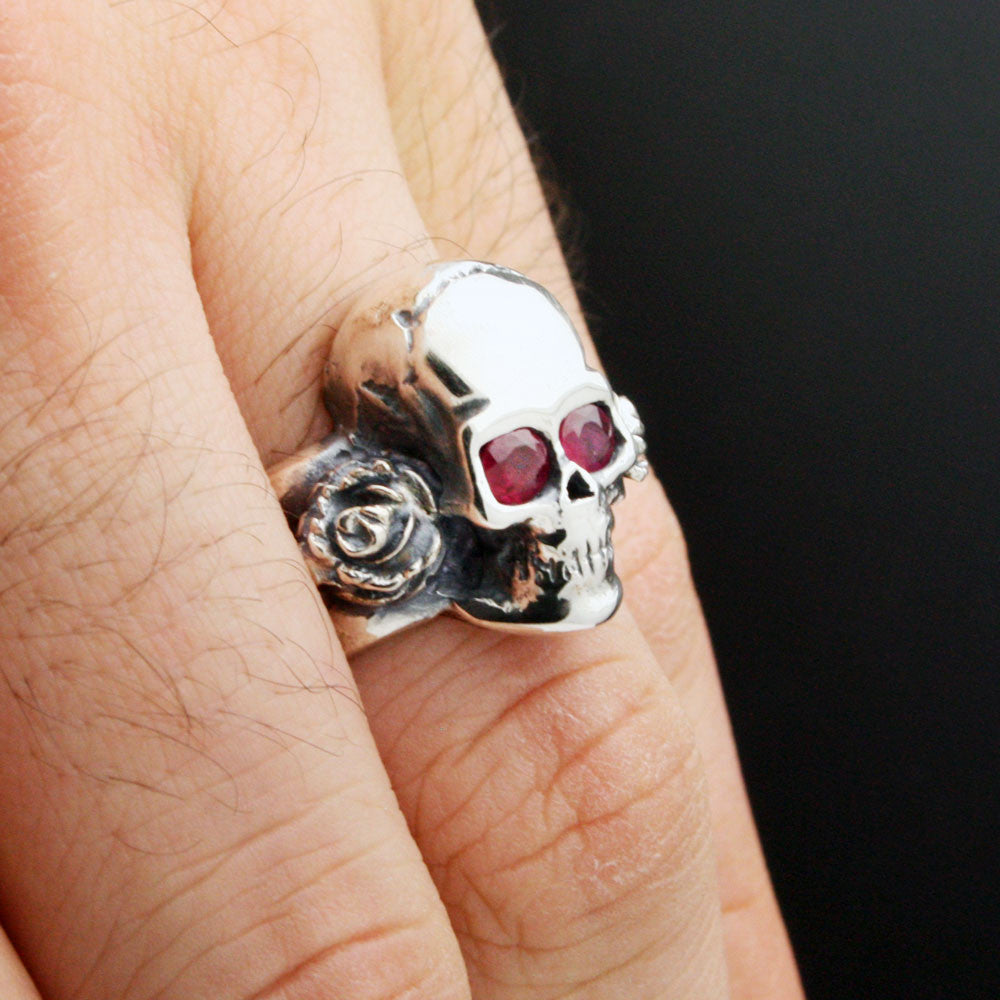 The Rose Skull Ring
