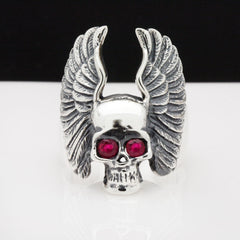 The Angel Skull Ring