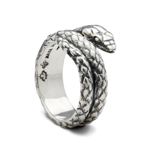 The Coiled Snake Ring