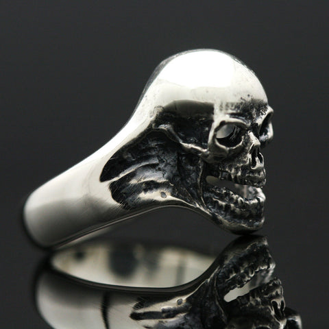 The Screamer Skull ring