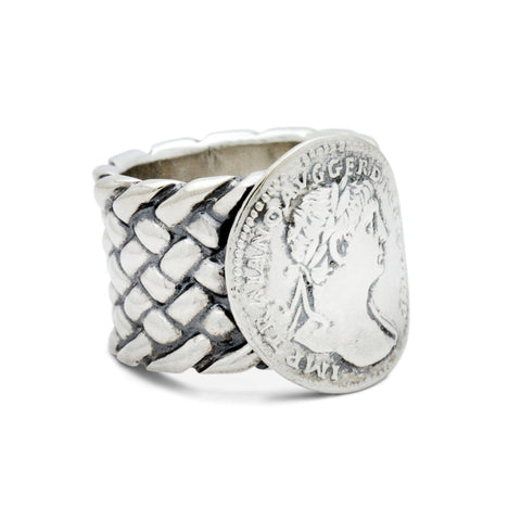 The Antique Coin Ring