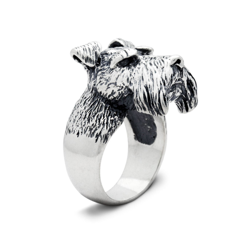 The Majestic Schnauzer Ring
