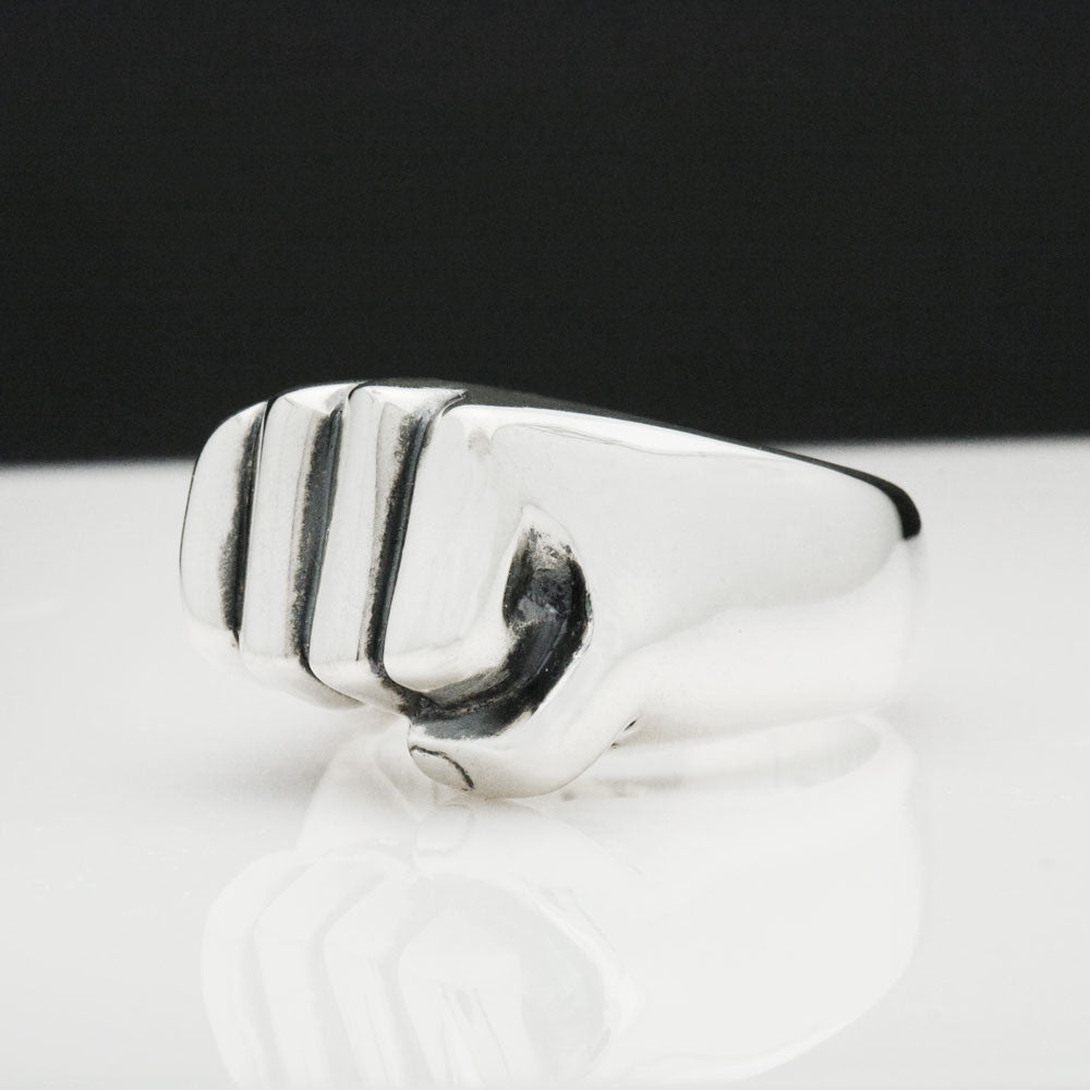The Nested Fist Ring