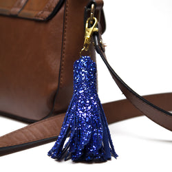 glitter tassel charm for handbangs
