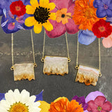 Citrine Slice Pendant - Gg's Pin-up Couture