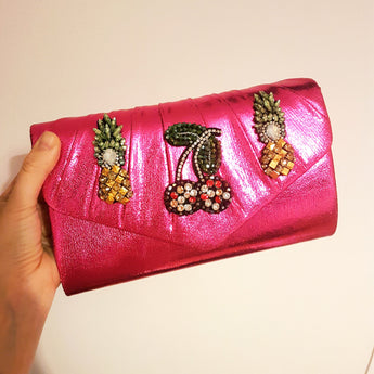 Fruitilicious Clutch - Gg's Pin-up Couture