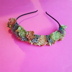 Succulent Hairband - Gg's Pin-up Couture