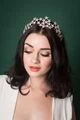 a star hairband tiara for brides or special occasions
