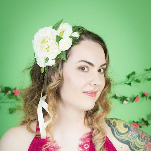 Ranunculus Crown - Gg's Pin-up Couture