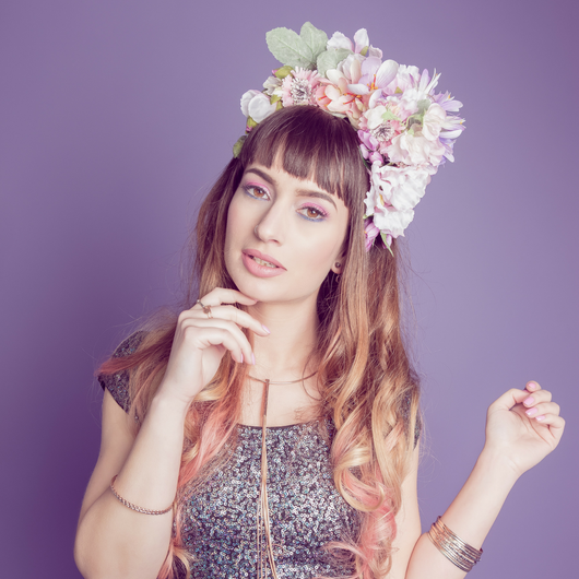 Pastel Halo Crown - Gg's Pin-up Couture