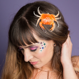 Fun Mermaid Crab Fascinator