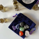 Crystal Healing Pouch Kit - Gg's Pin-up Couture
