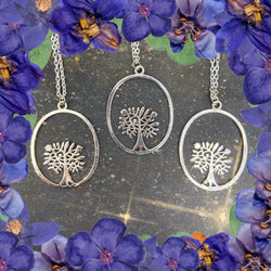 Sterling Silver Tree of Life Pendant - Gg's Pin-up Couture