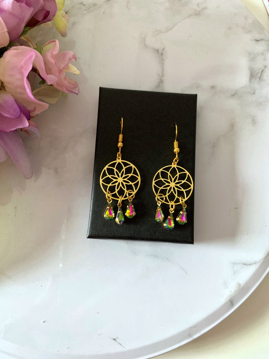 Dream Catcher Earrings - Gg's Pin-up Couture