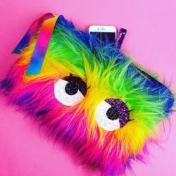 Rainbow Creature Clutch Bag - Gg's Pin-up Couture