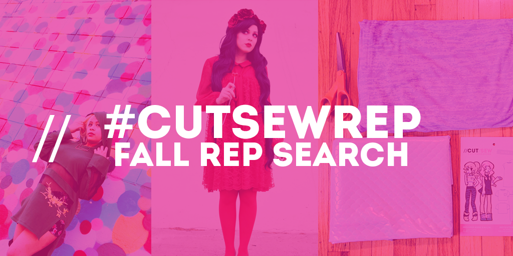 #CUTSEWREP // CUT/SEW Instagram Rep Search
