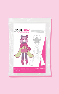 Mahou Shoujo Cosplay Sewing Pattern