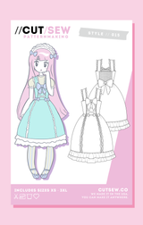 CUT/SEW Lolita JSK Fashion Sewing Pattern