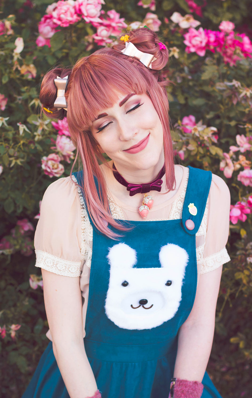 CUT/SEW Beginner Friendly Bear Pinafore Sewing Pattern