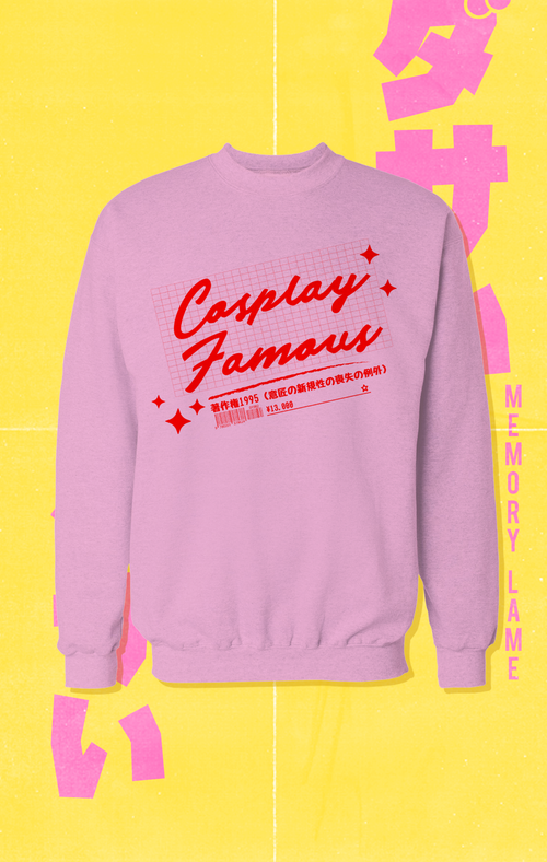 CUT/SEW Memory Lame Cosplay Famous Sweatshirt