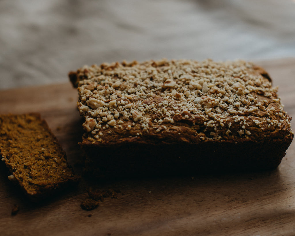 Healthier Kid-Friendly Pumpkin Bread