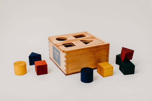 Rainbow Shape Sorter Box