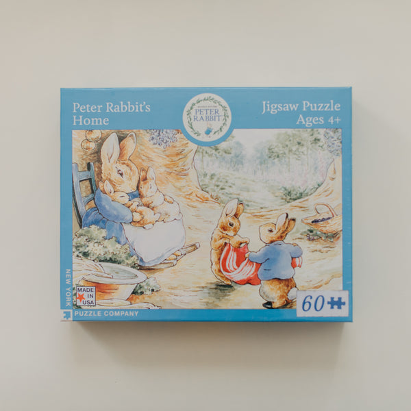Peter Rabbit's Home 60 Piece Puzzle