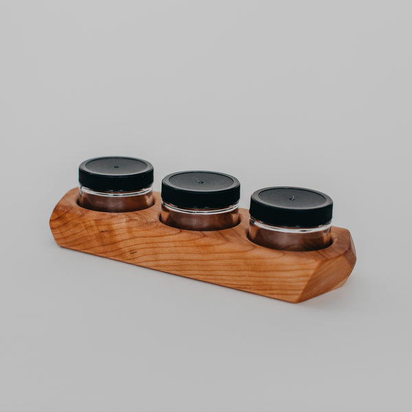 Paint Jar Holder with 3 Jars