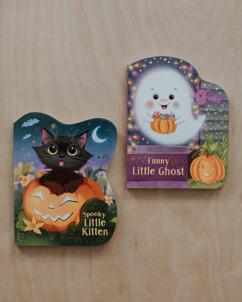 Halloween Board Book Set