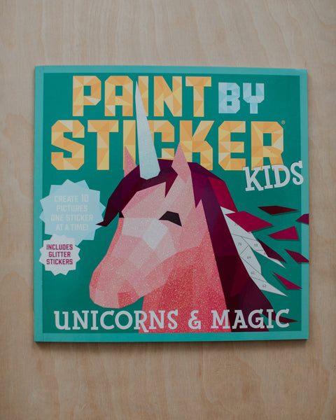 Unicorns & Magic Paint-by-Sticker