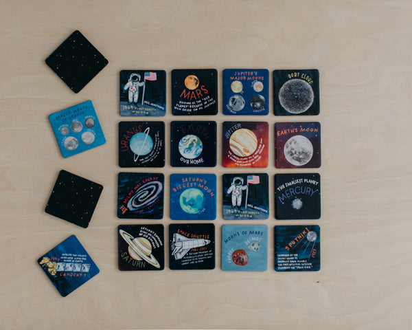 Space Exploration Memory + Matching Game