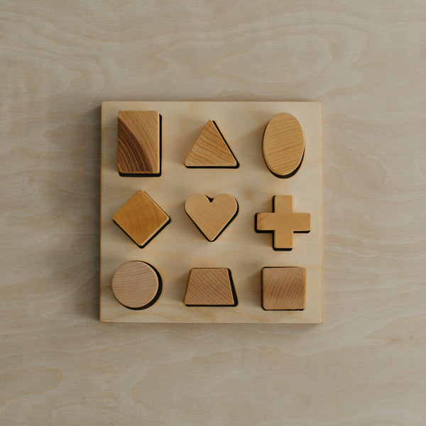 Natural Shape Puzzle Board