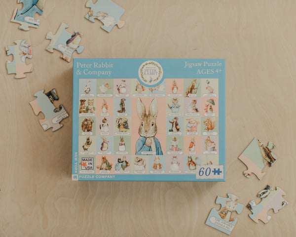 Peter Rabbit + Co Puzzle