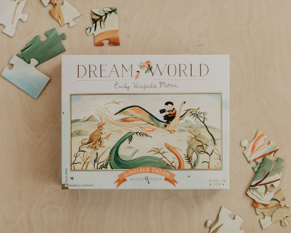 Dinosaur Dream 80 Piece Puzzle