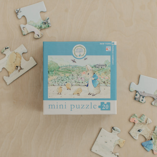 Spring Chicks Peter Rabbit Mini Puzzle
