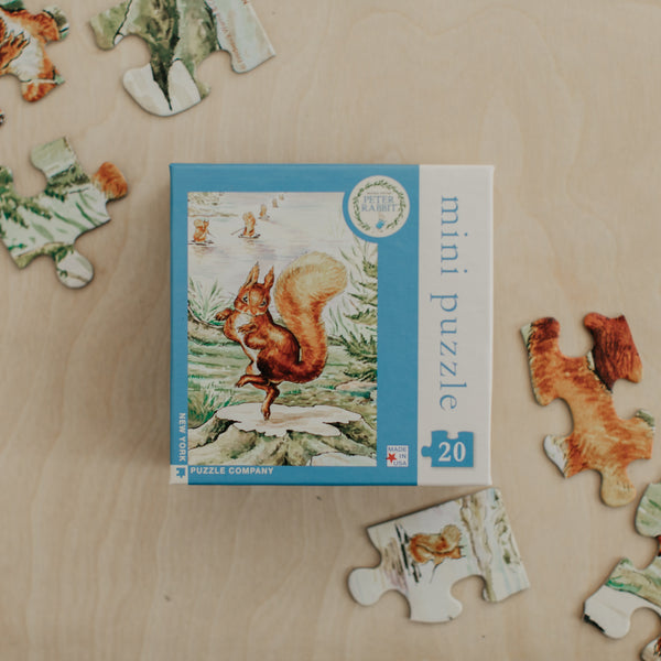 Peter Rabbit Squirrel Nutkin Mini Puzzle