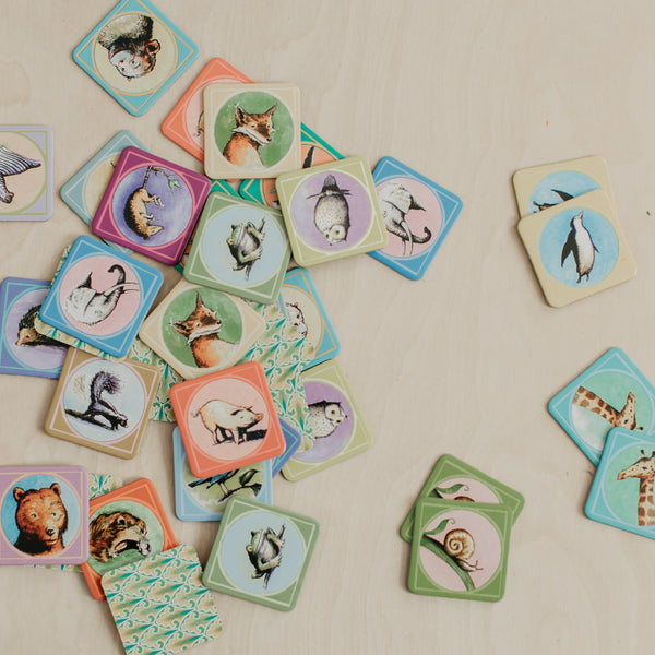 Wildlife Mini Memory Game