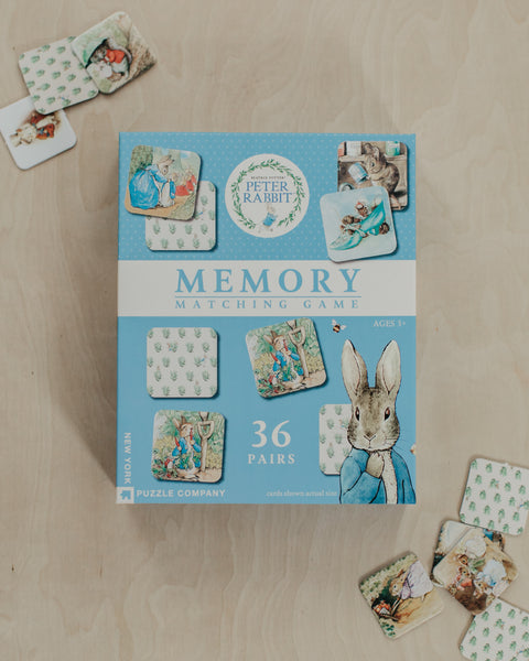 Peter Rabbit Memory Game