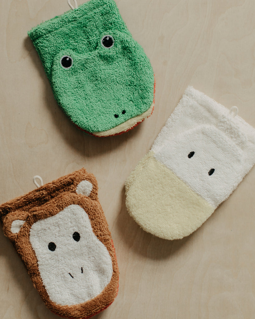 Organic Puppet Washcloth