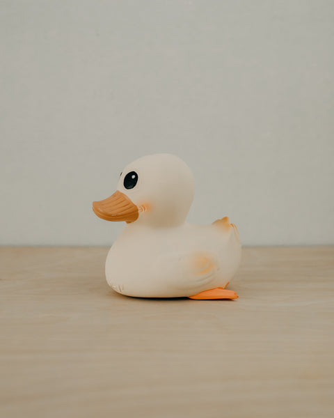 Large Natural Rubber Duck
