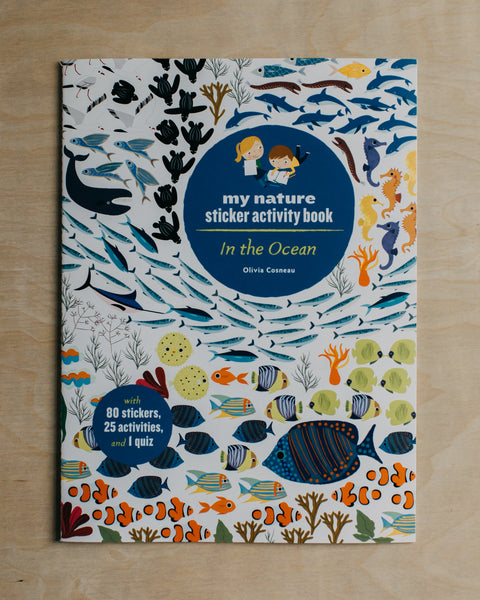 In the Ocean Sticker Activity Book