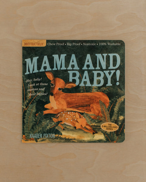 Mama and Baby! Indestructible Book