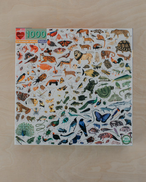 Rainbow World 1000 Piece Puzzle