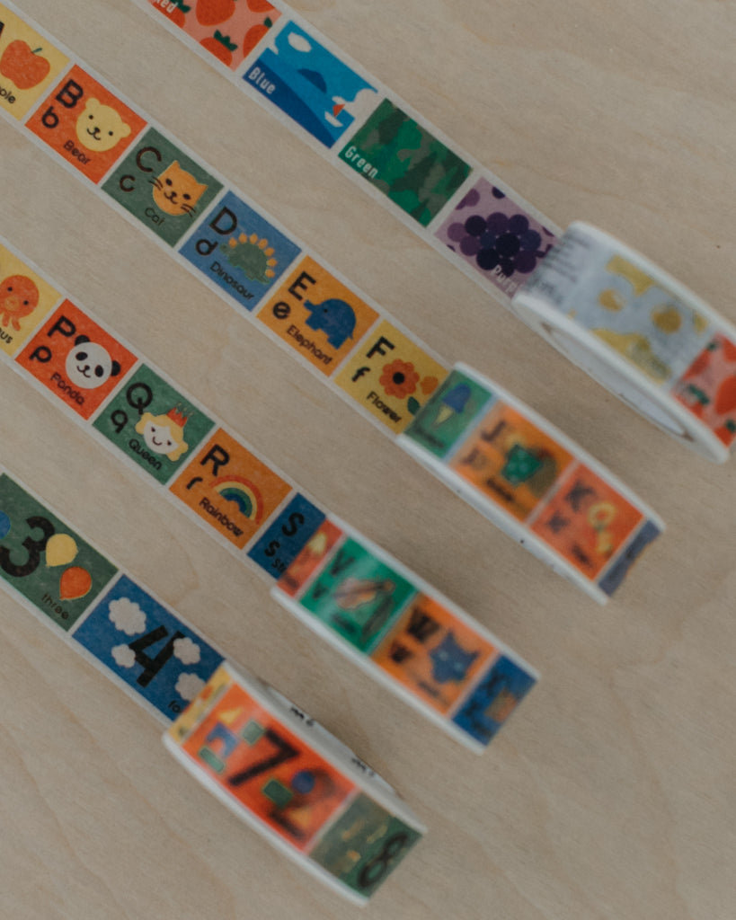 Washi Tape - Colors, ABCs + 123s