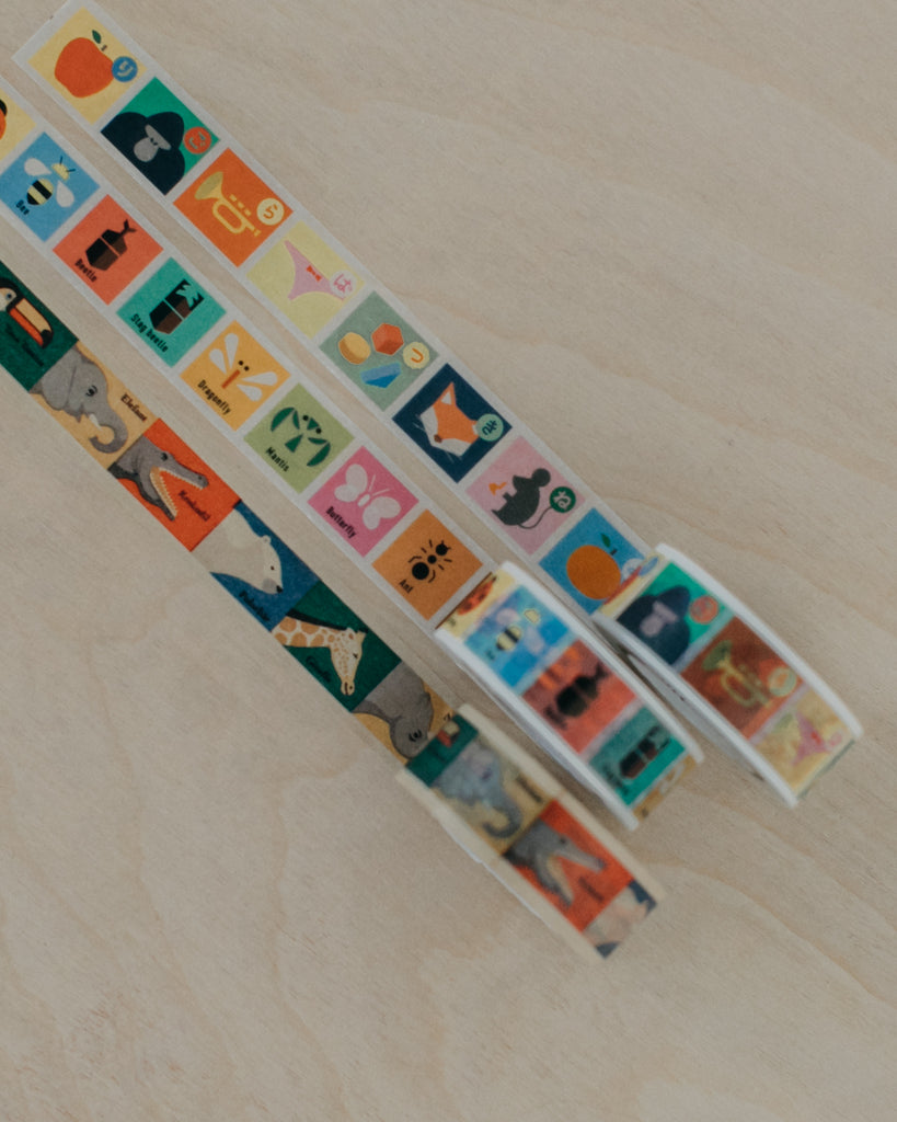 Washi Tape - Animals + Insects