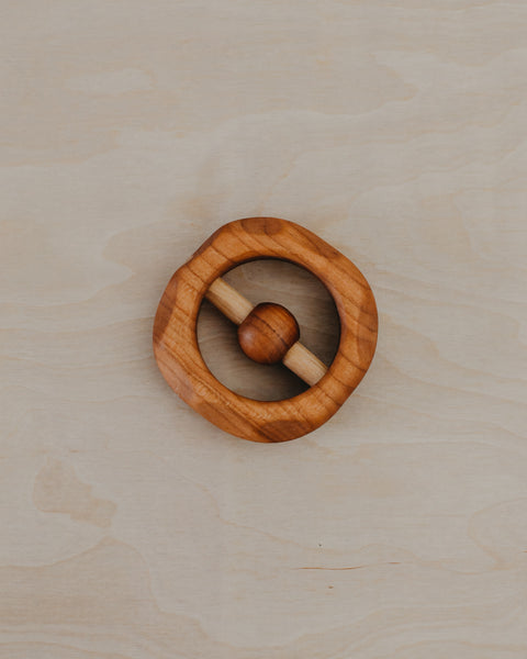 Cherry Wood Rattle
