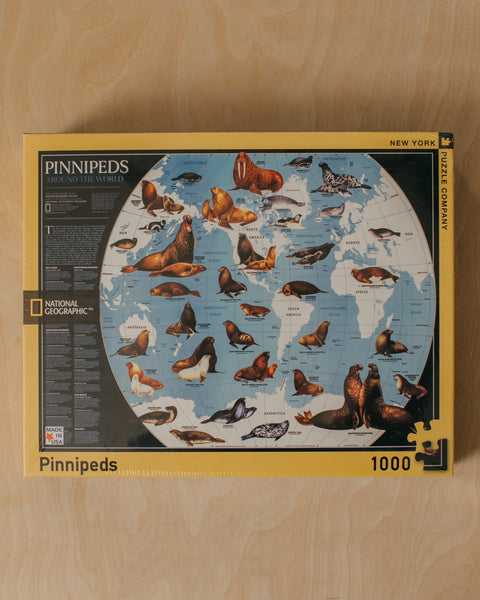 Pinnipeds 1000 Piece Puzzle