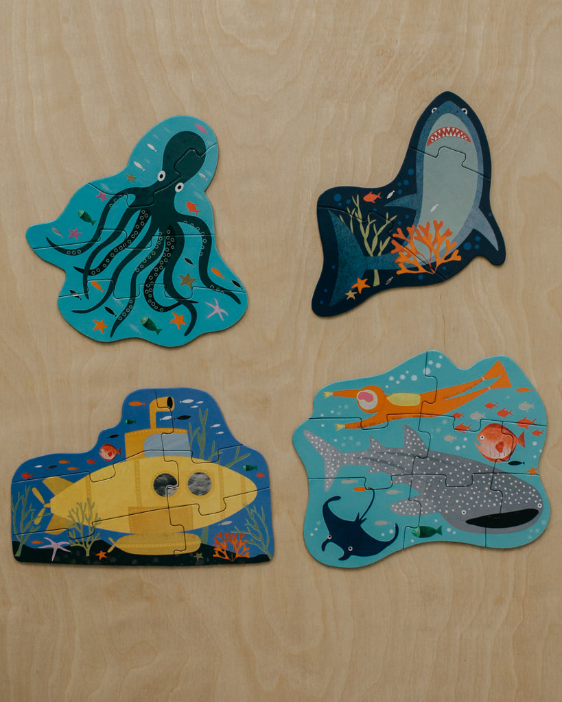 Deep Sea First Puzzles