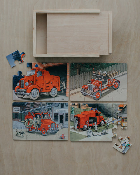Fire Trucks Boxed Puzzle